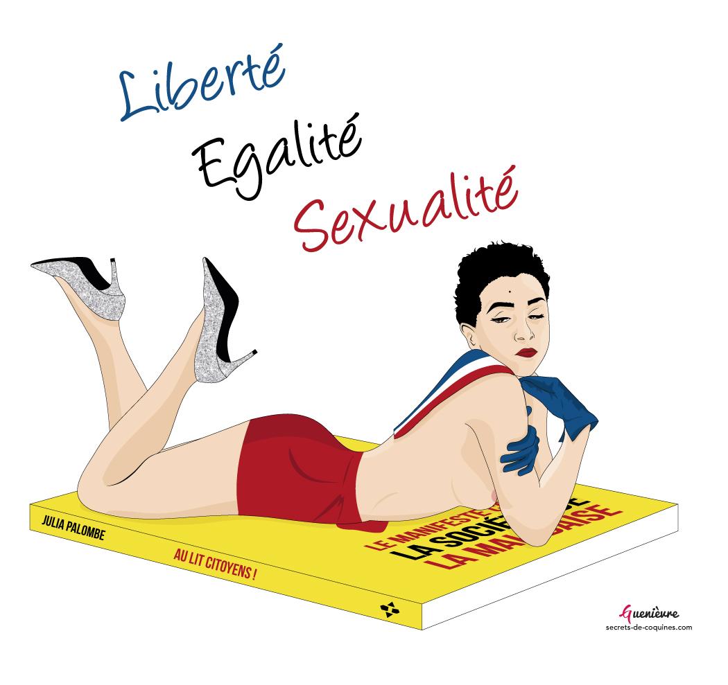 Julia Palombe - Au lit citoyens ! - Secrets de coquines