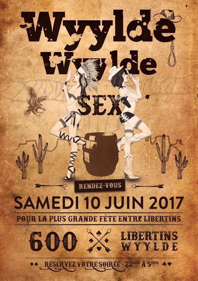 Wyylde soirée - Flyer - Secrets de coquines