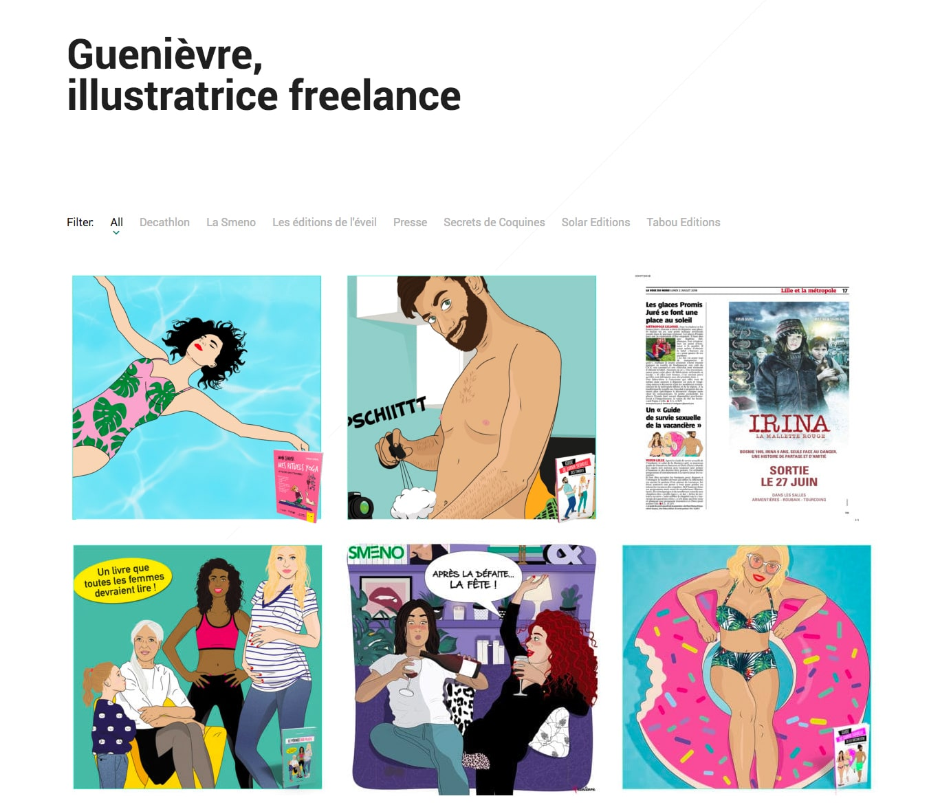 portfolio guenievre-illustration